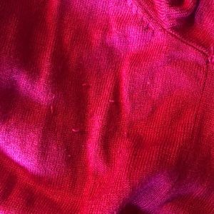 Mossimo Supply Co. Sweaters - Red/orange cardigan